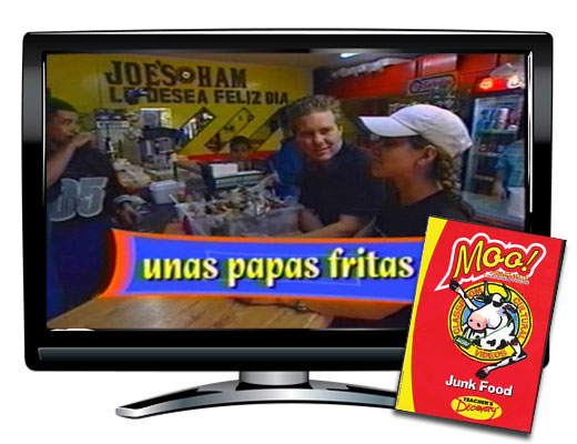 Moo!™ Junk Food Spanish Video