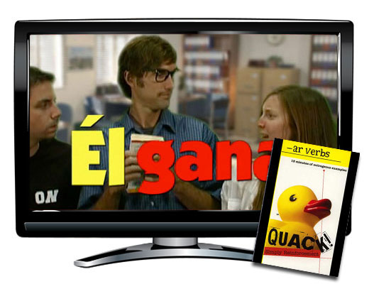 Quack!™ -AR Verbs Spanish Video