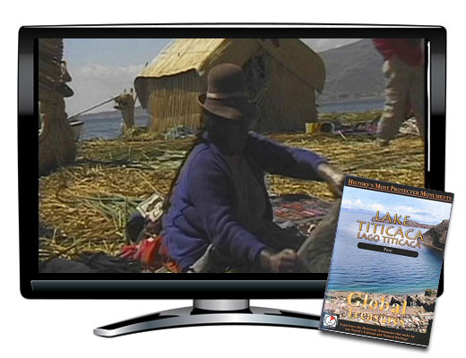 Global Treasures Lake Titicaca DVD