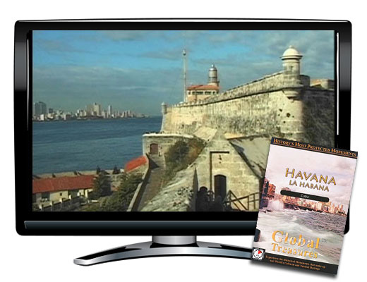 Global Treasures Havana Cuba DVD