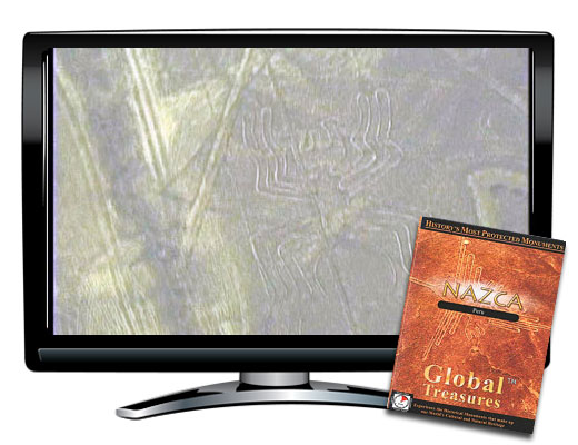 Global Treasures Nazca Peru DVD