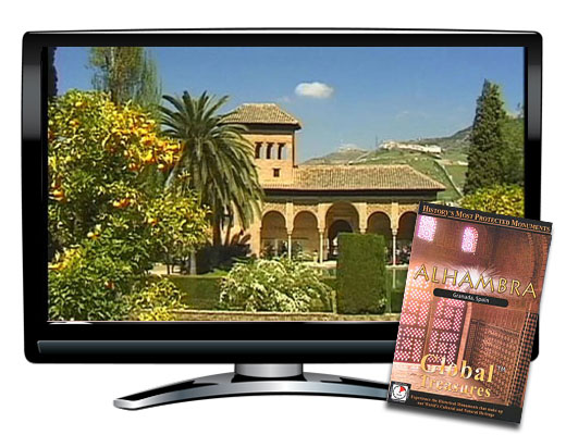 Global Treasures Alhambra Granada Spain DVD