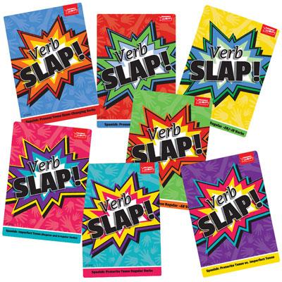 Verb Slap! Spanish Games
