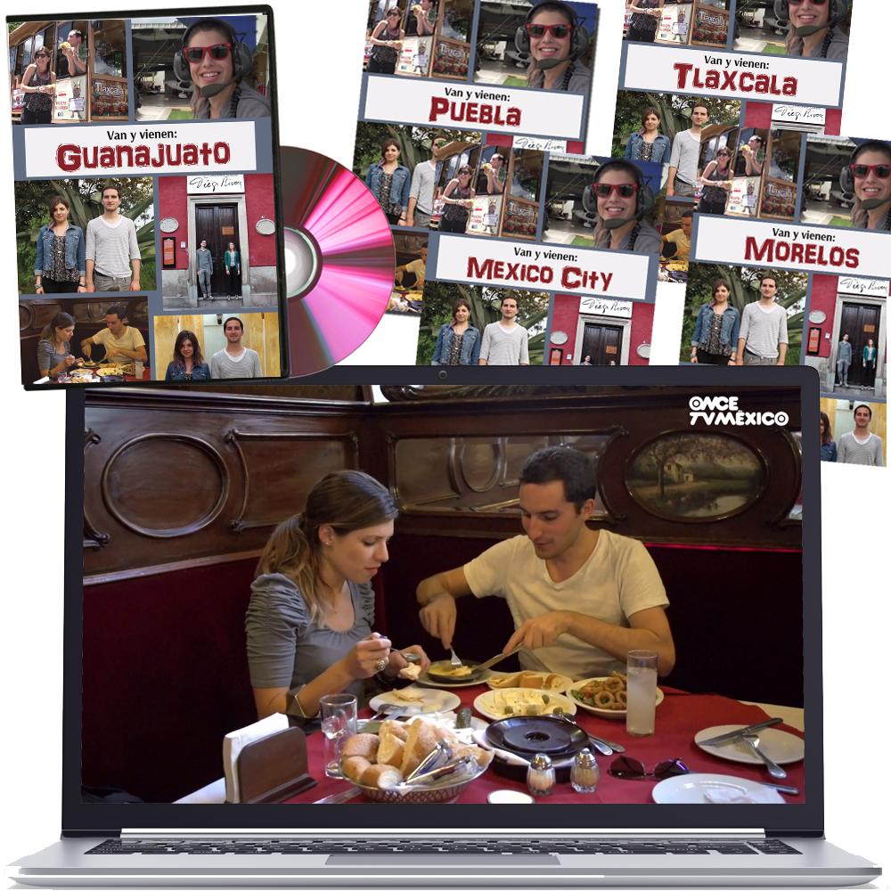Van y vienen Travel Series Set of 5 Videos
