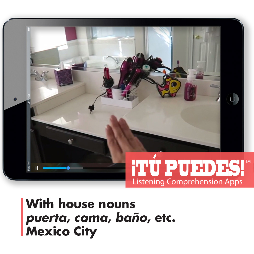 Listening Comprehension App Camila's House for One Teacher and Unlimited Students
