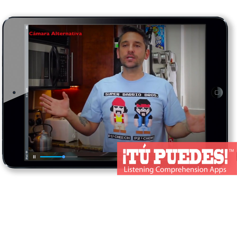 Listening Comprehension App Pico de Gallo for One Teacher and Unlimited Students