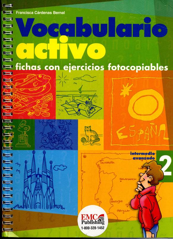 Vocabulario Activo 2 Spanish Activity Book