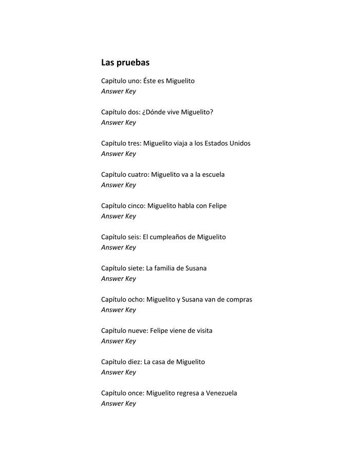 Las aventuras de Miguelito Level 1 Spanish Reader, Spanish ...
