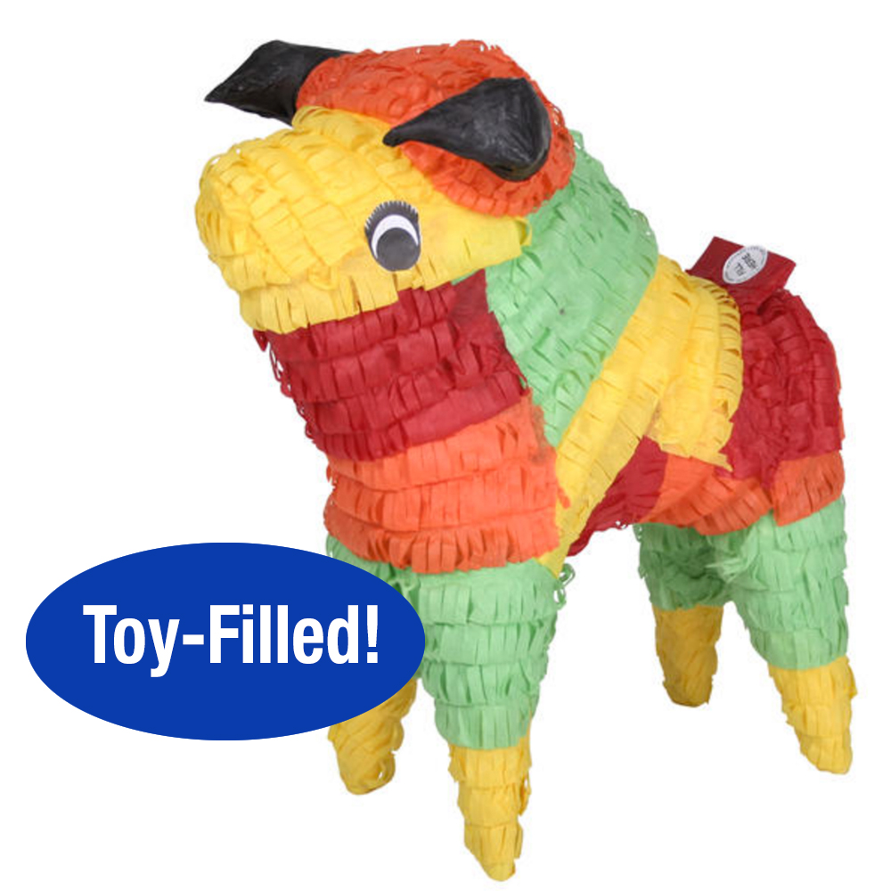 Toy-Filled Bull Piñata