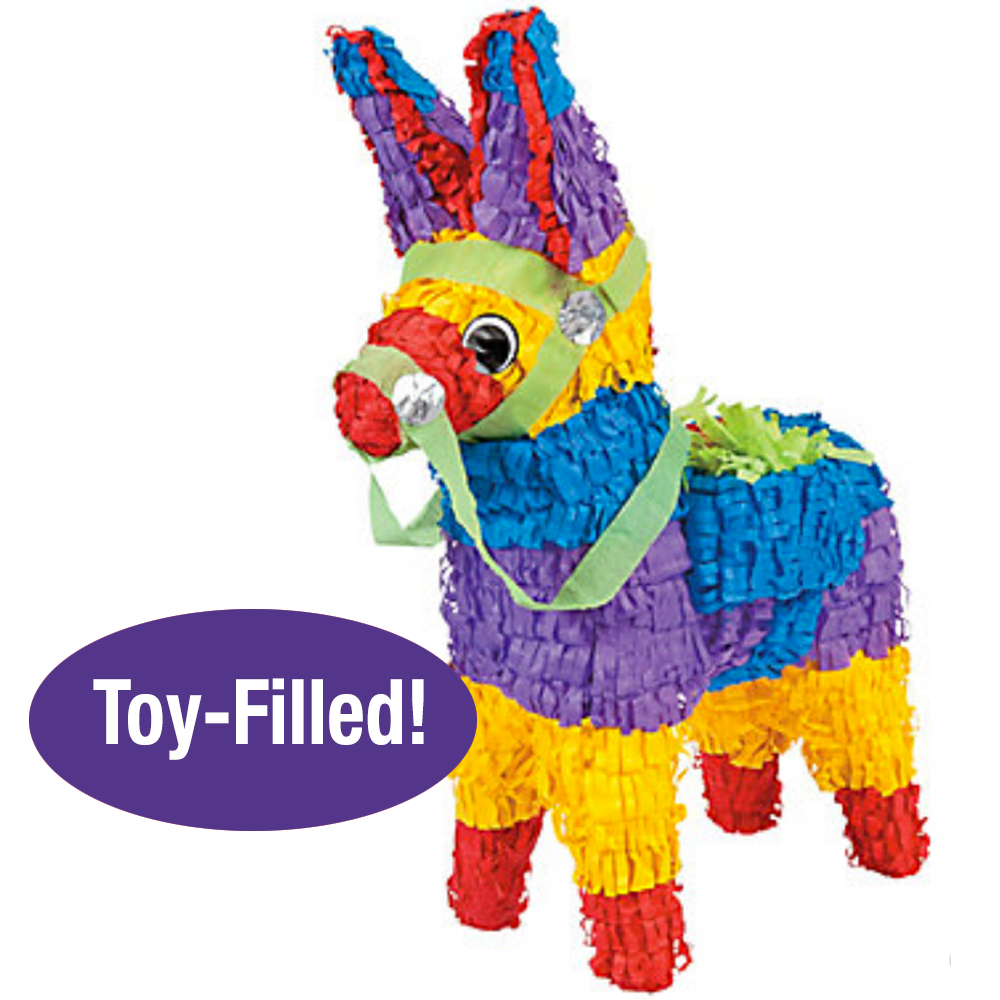 Toy-Filled Burro Piñata