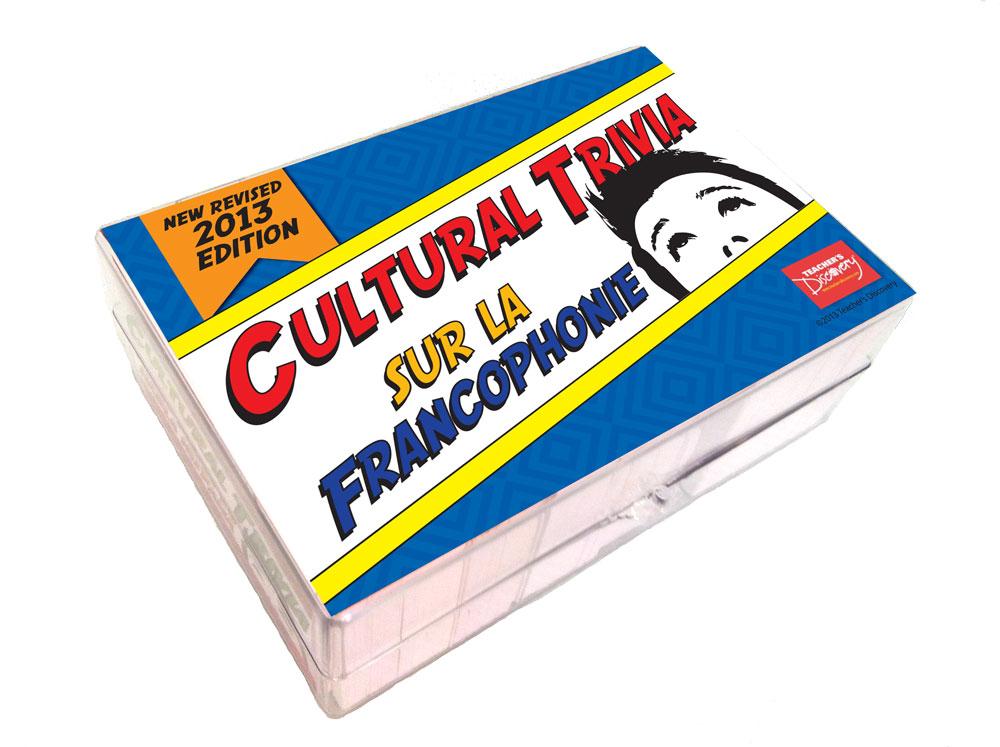 Cultural Trivia Sur la Francophonie Game