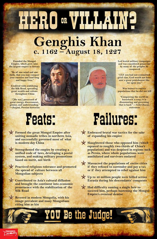 world history hero or villain mini poster set of social   enlarge image