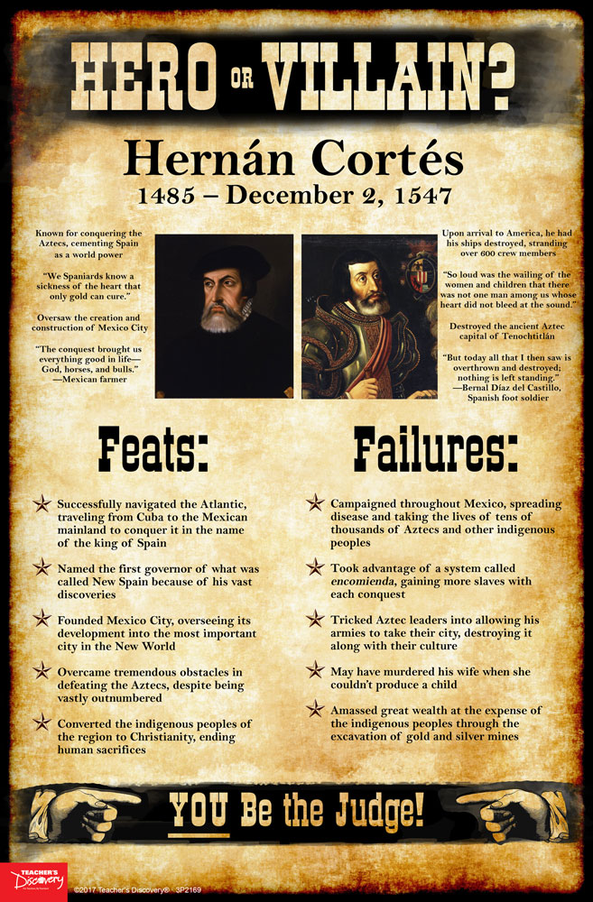 Hernán Cortés: Hero or Villain? Mini-Poster