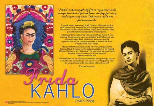 Frida Kahlo Traveling Exhibit