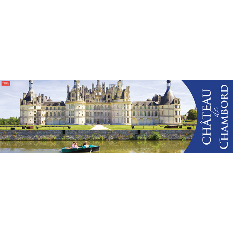 Chateau de Chambord Panoramic Poster (2013)