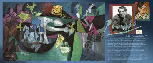 Pablo Picasso Traveling Exhibit