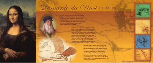Leonardo Da Vinci Traveling Exhibit