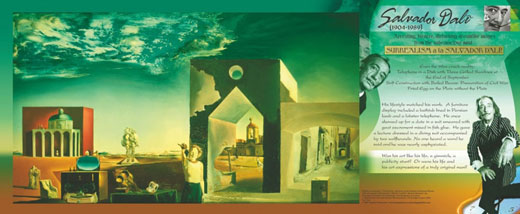 Salvador Dali Traveling Exhibit