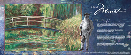 Monet Traveling Exhibit