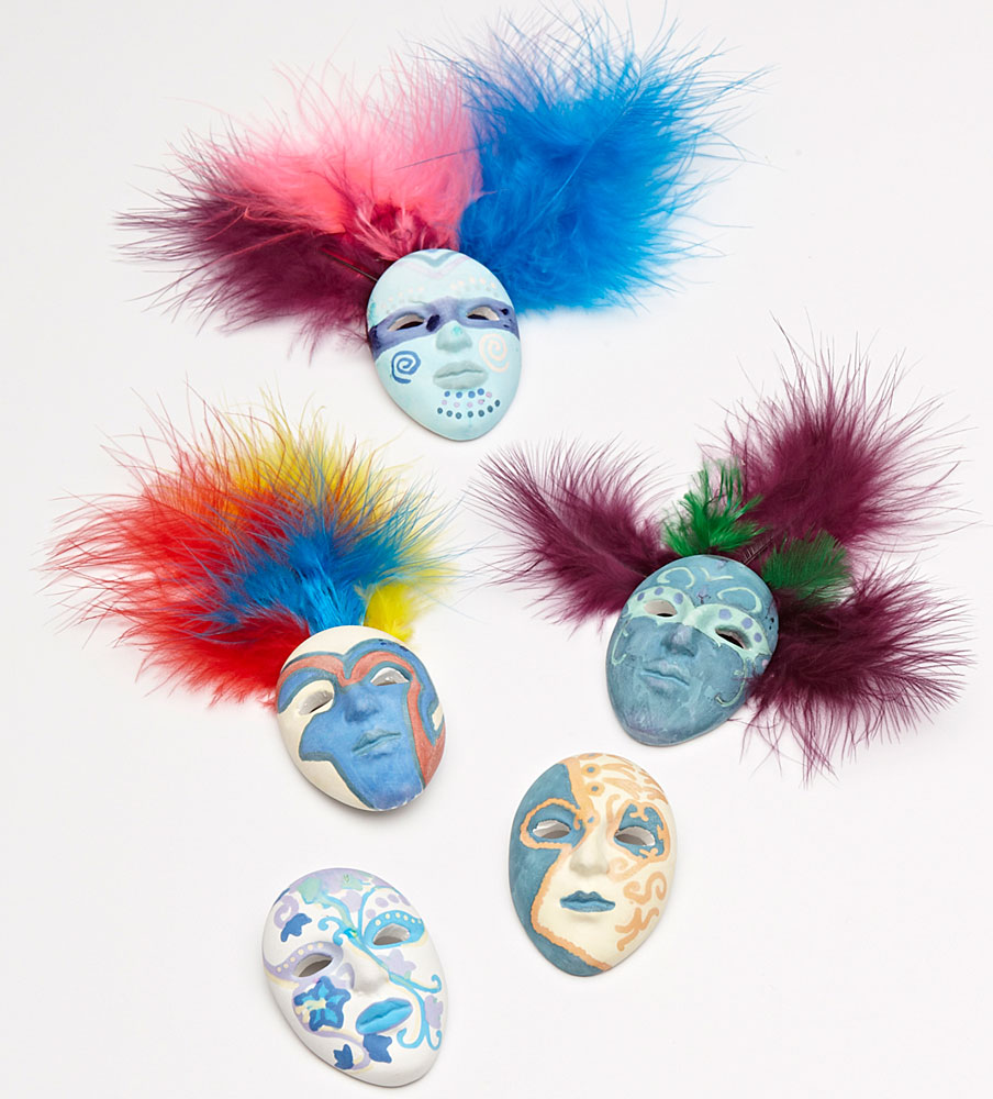 Mardi Gras/Carnaval/Karneval Mask Decorating Kit