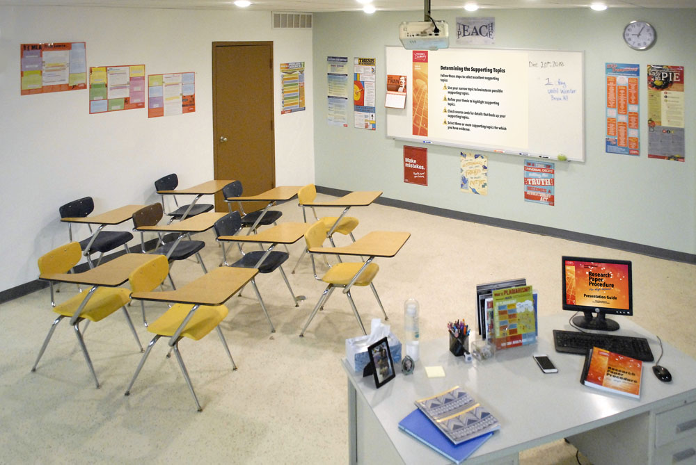 Writing Research Classroom