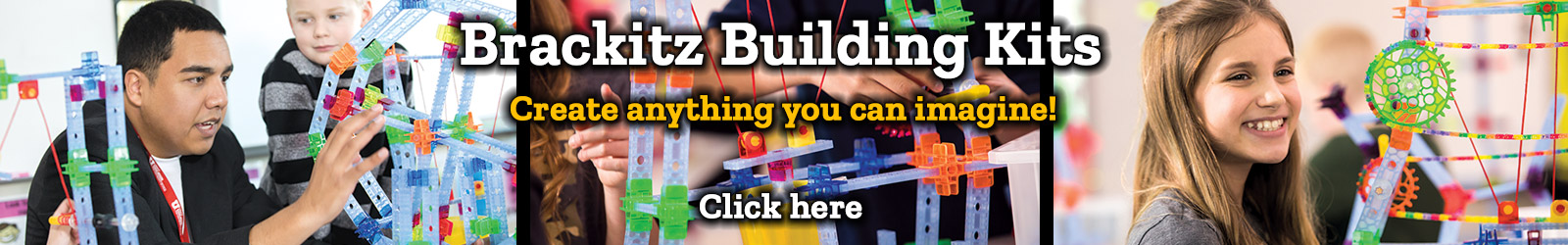 Brackitz Building Kits Create anything you can imagine!