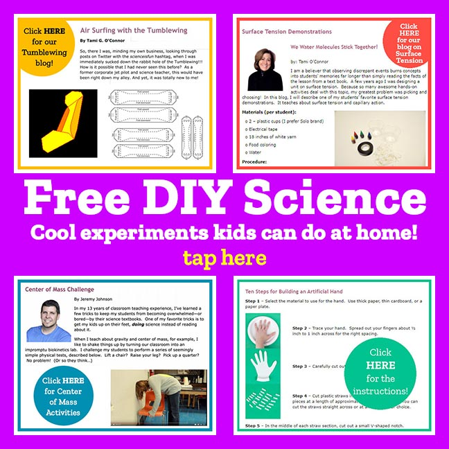 Free DIY Science Experiments Kids Can Do at Home