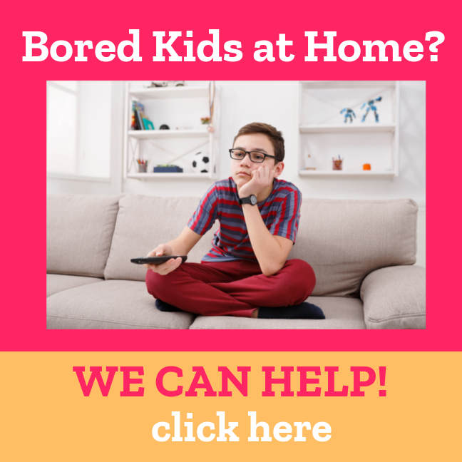 Bored Kids at Home? We can help. Click here for kid friendly science.