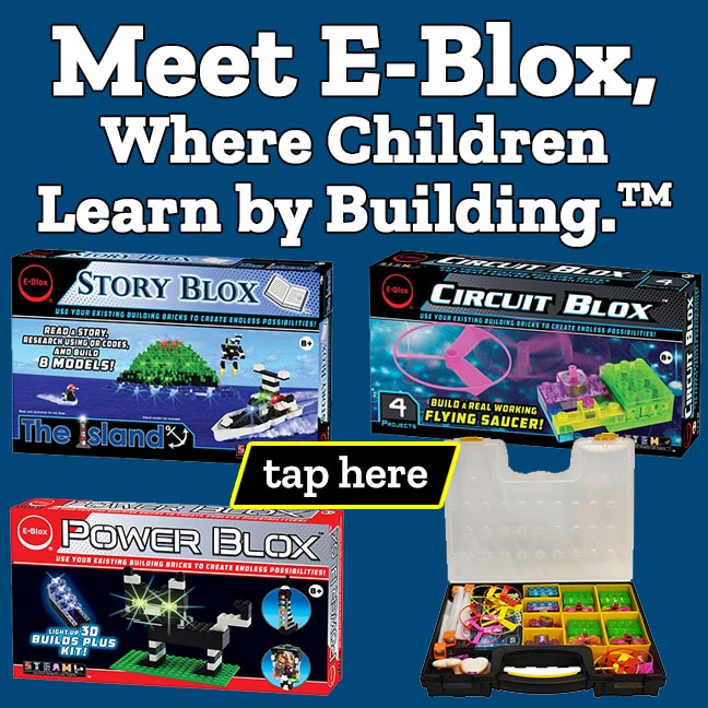 Meet E-Blox, Where Children Learn by Building