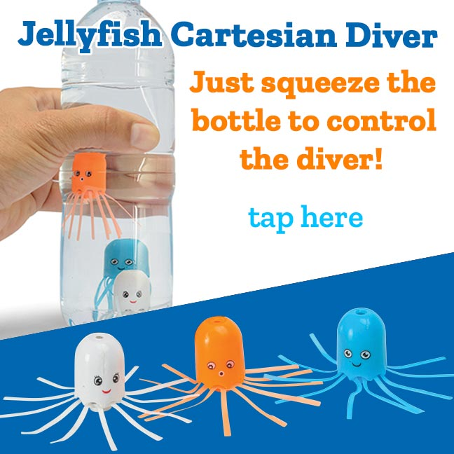 Jellyfish Cartesian Divers