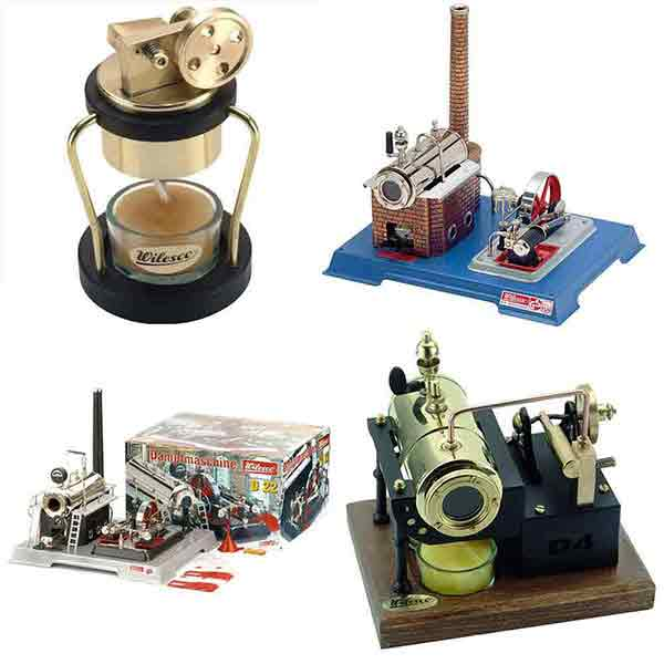 Wilesco Steam Engines and Parts