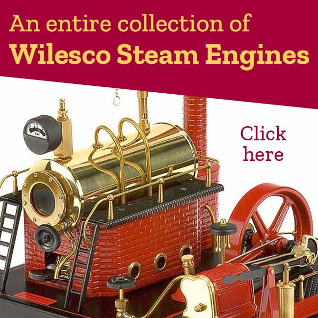 Wilesco Steam Engines