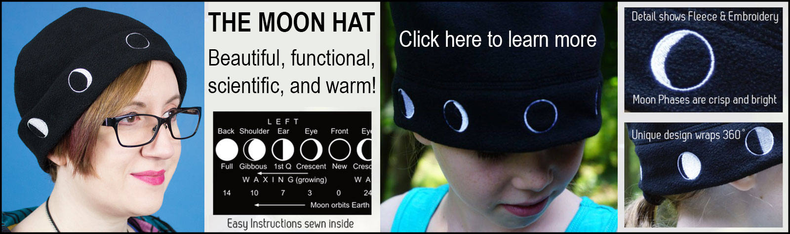 Moon hat