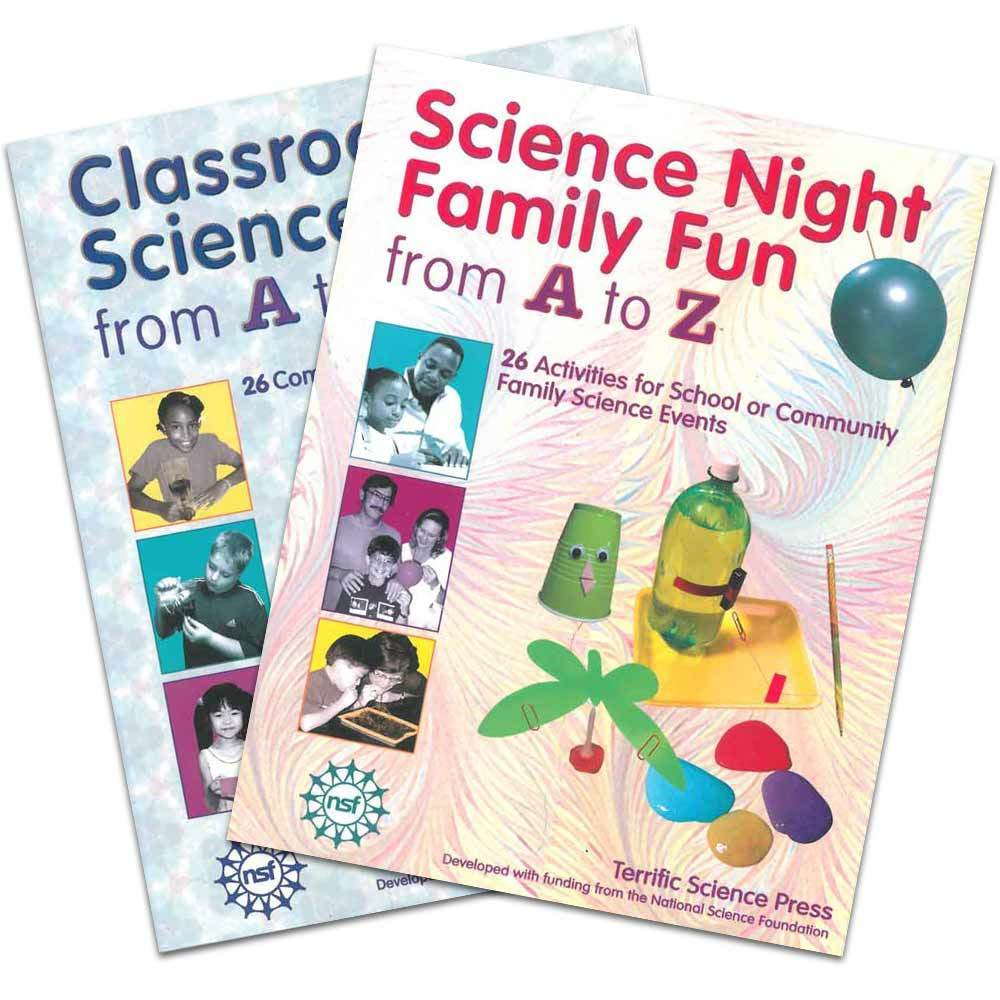 Family & Classroom Science from A to Z - Set of 2 Books