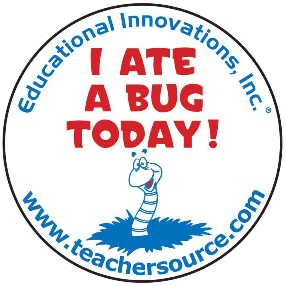 I Ate a Bug Today Stickers