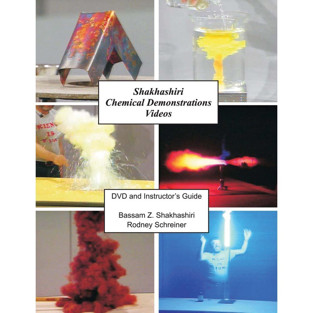 Shakhashiri 49 Chemical Demos DVD