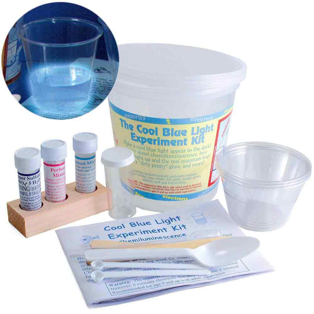 Cool Blue Light Experiment Kit