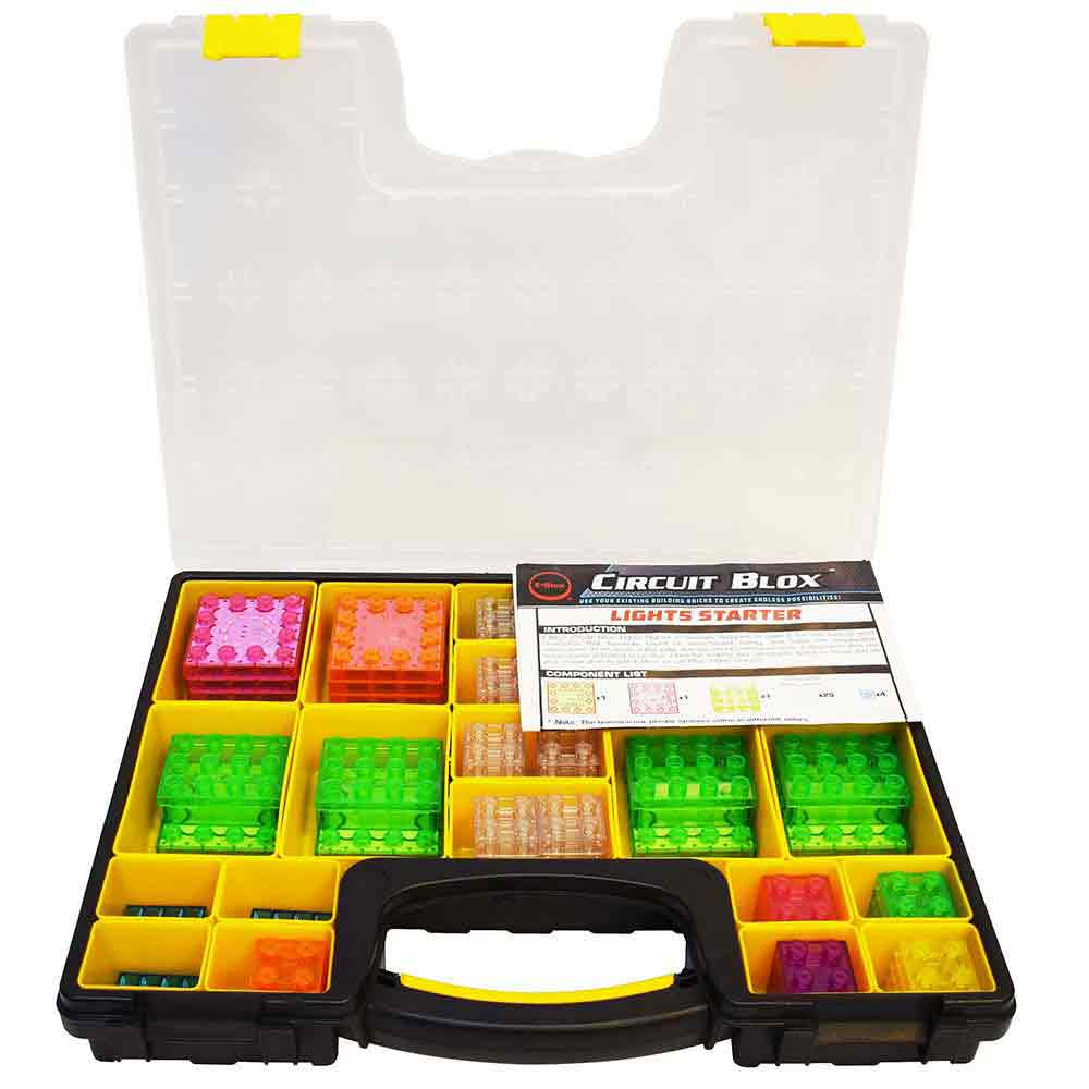 e-Blox Circuit Blox Lights Starter Classroom Set