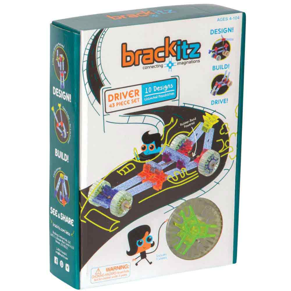 Brackitz Driver 43 Piece Kit