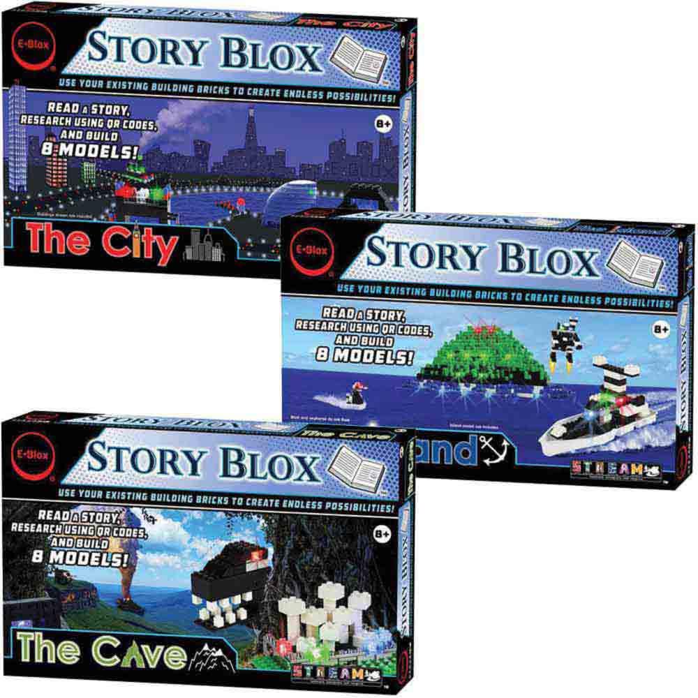 e-Blox Story Blox 3-in-1 Classroom Set