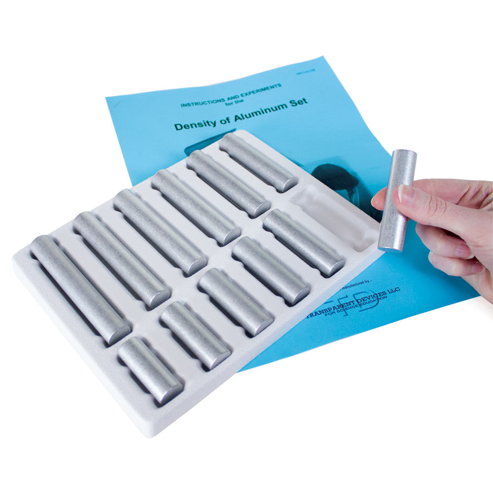 Set of 12 Aluminum Density Samples