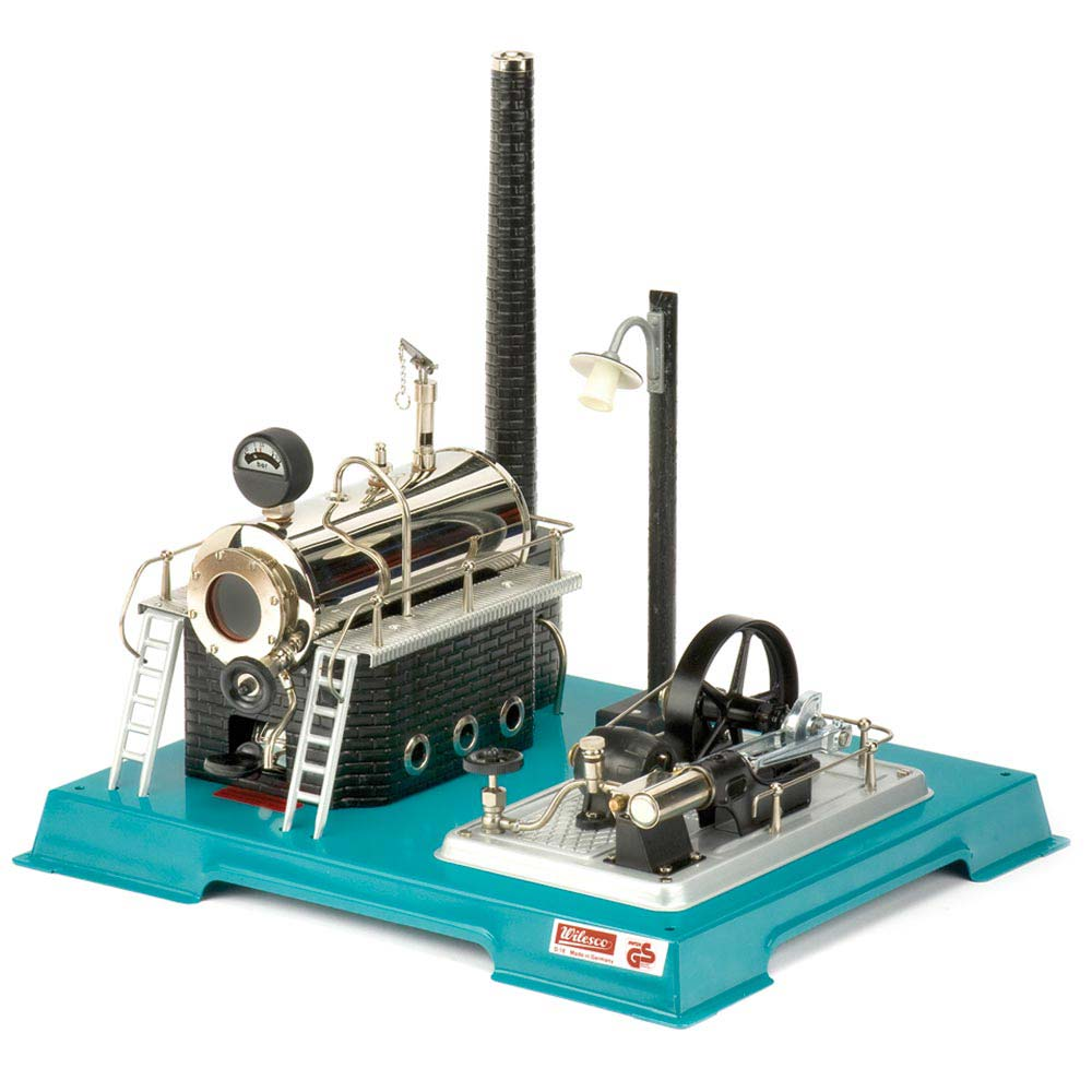 Wilesco D18 Steam Engine with Integral Generator & Light