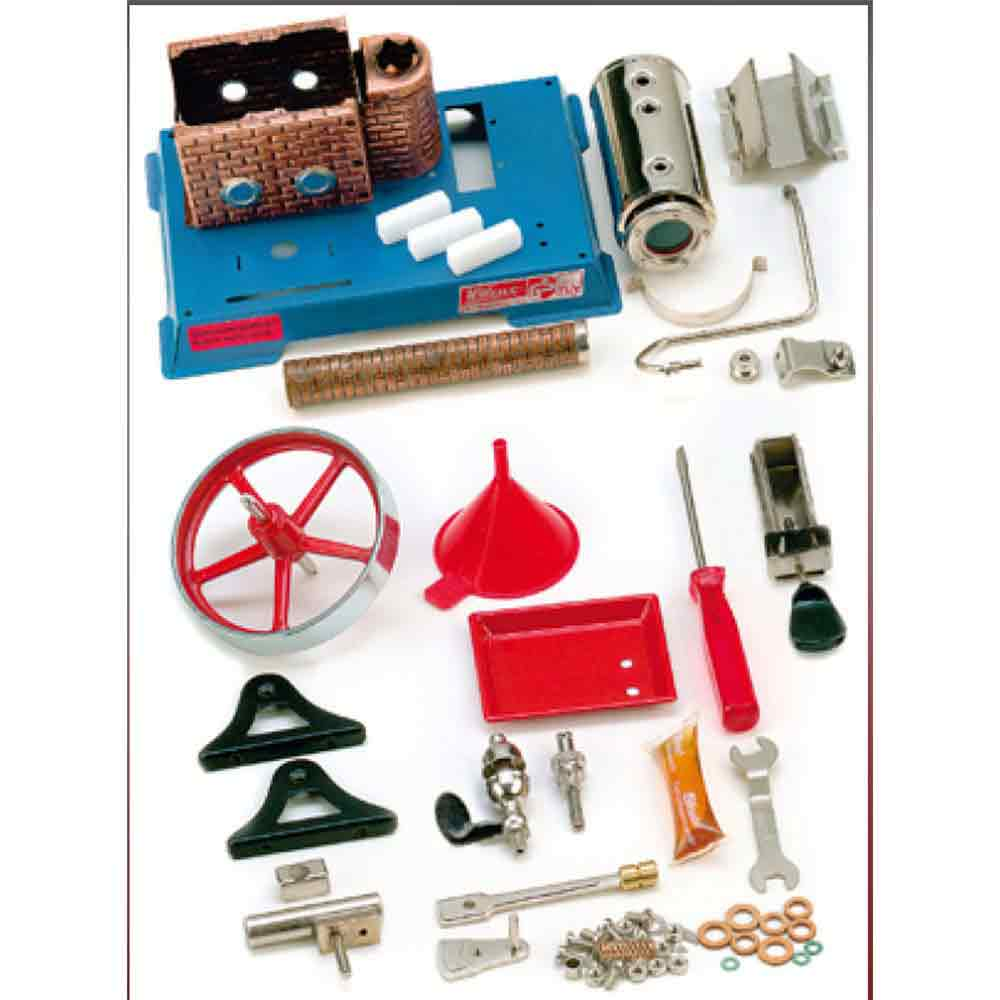 Wilesco D455 Vertical Steam Engine