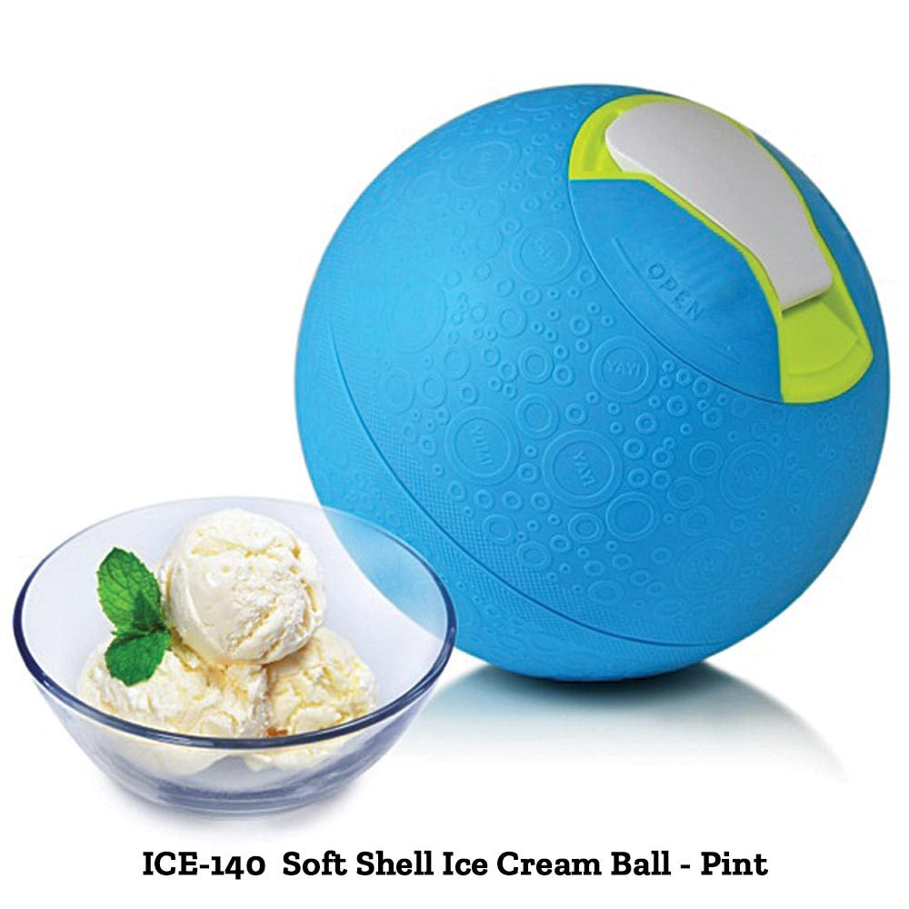Soft Shell Ice Cream Balls