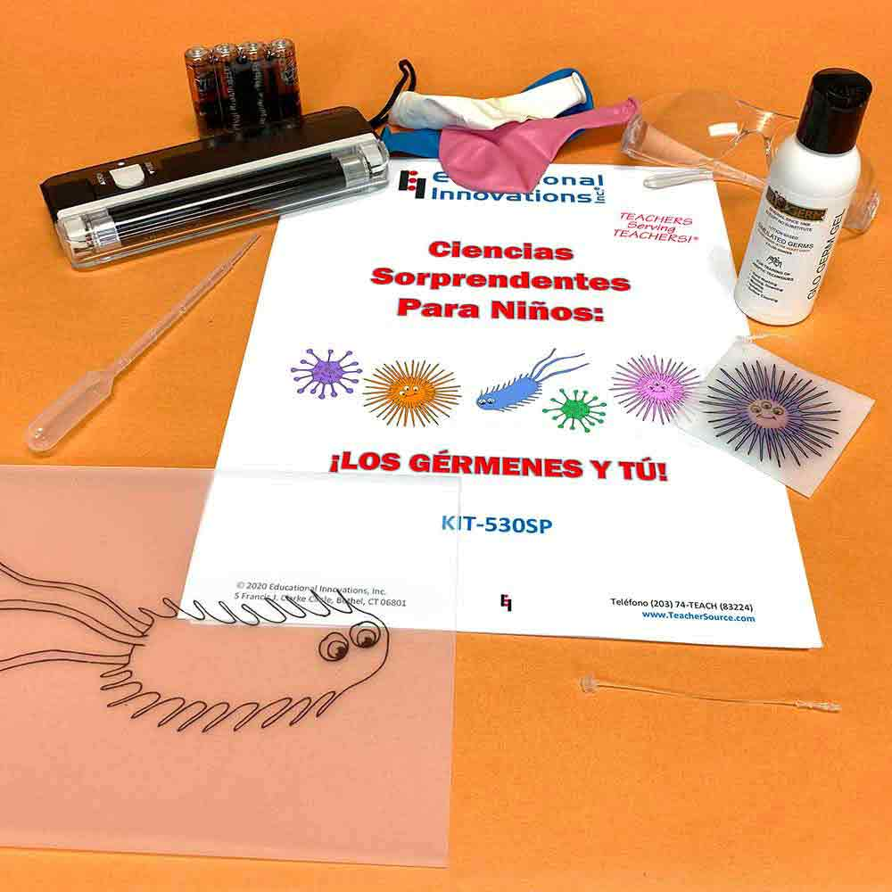 Ciencias Sorprendentes para Niños: ¡Los gérmenes y tú! (SPANISH)