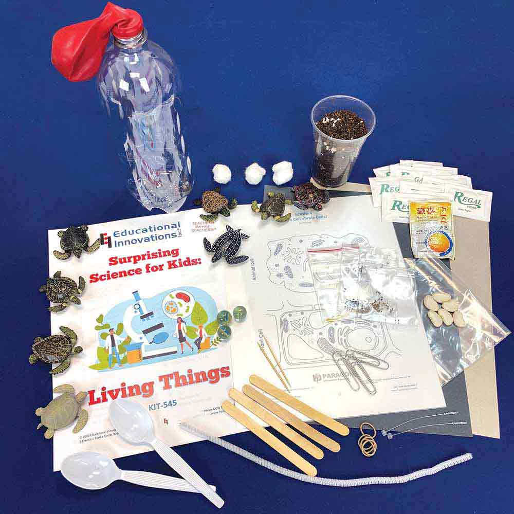 Surprising Science for Kids: Living Things