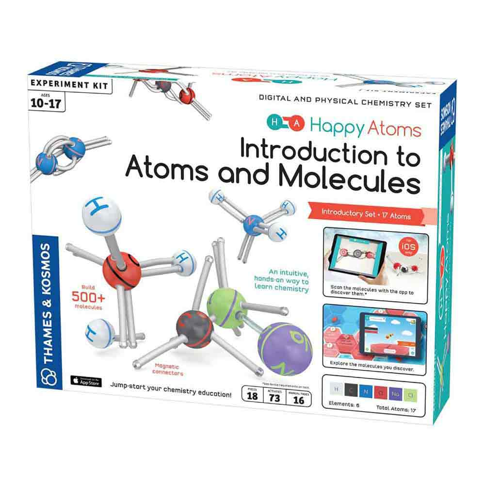 Happy Atoms Introductory Set (17 Atoms)