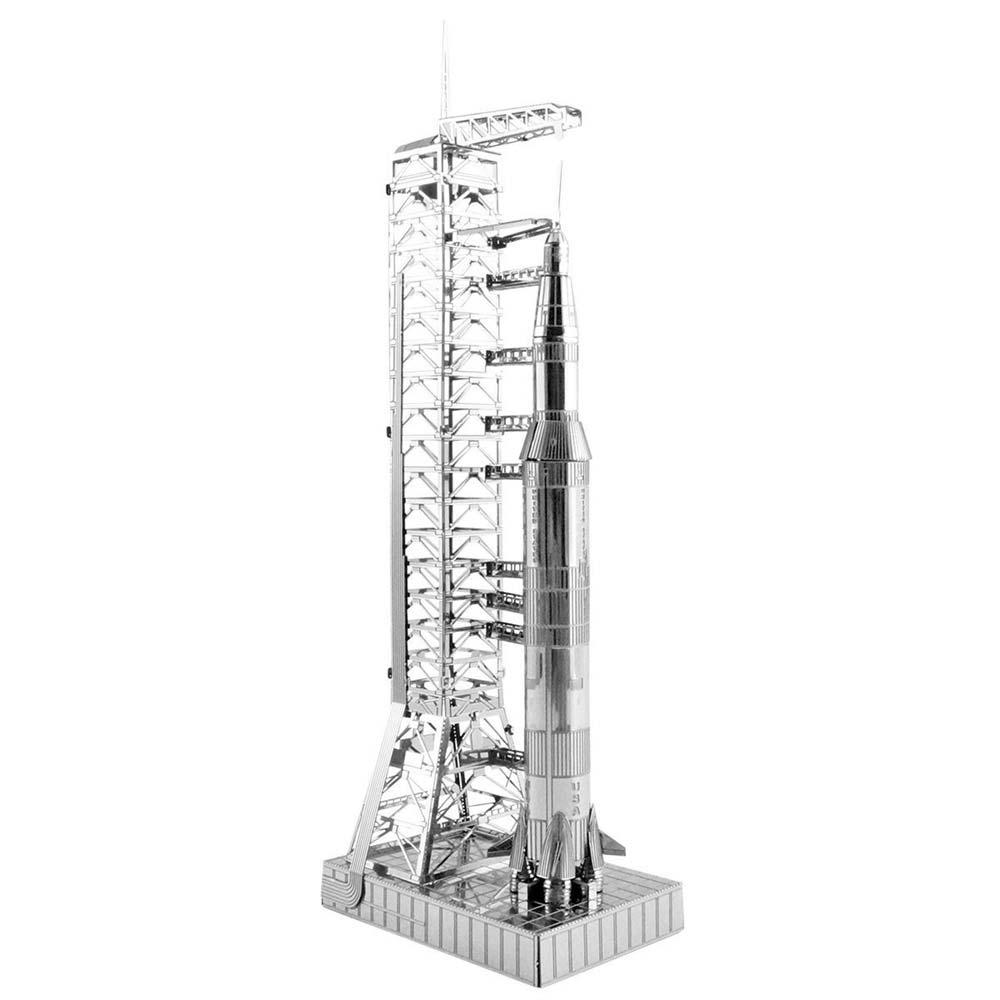 Saturn V Rocket with Gantry Model