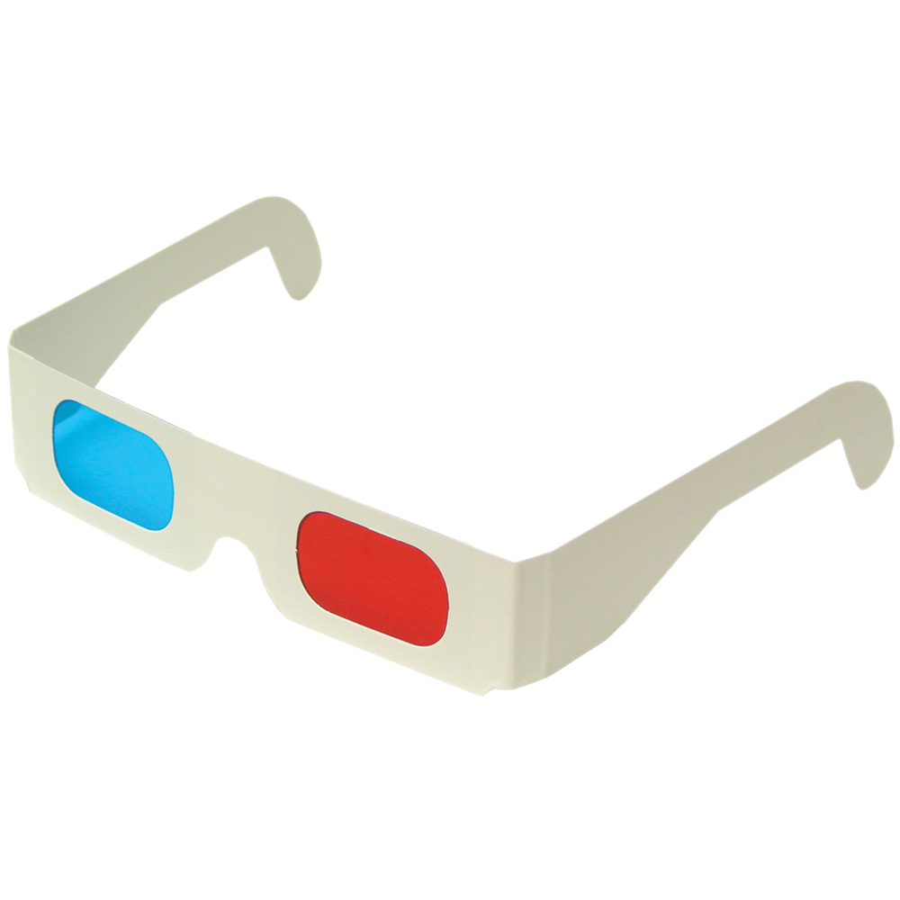 Red / Blue 3D Glasses (5/pk)