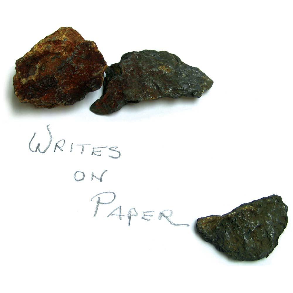 Graphite from the Franklin Pierce Mine